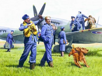Ground Personnel 1939/1945 · ICM 48081 ·  ICM · 1:48