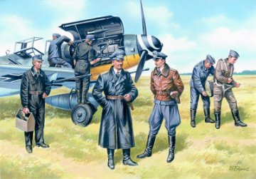 WWII Luftwaffe Pilots and Ground Personnel 1939/1945 · ICM 48082 ·  ICM · 1:48