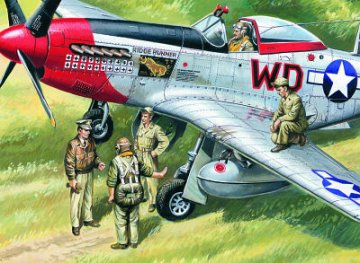 USAAF Pilots and Ground Personnel 1939/1945 · ICM 48083 ·  ICM · 1:48