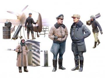 WWII German Luftwaffe Piloten · ICM 48086 ·  ICM · 1:48