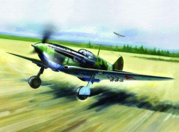LaGG-3 Series 7-11 WWII Soviet Fighter · ICM 48093 ·  ICM · 1:48