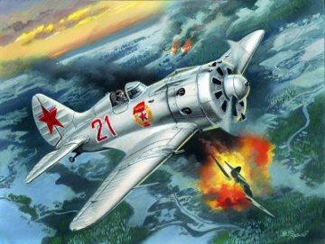 I-16 type 24,WWII Soviet Fighter · ICM 48097 ·  ICM · 1:48