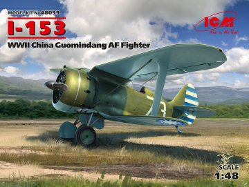 I-153 - WWII China Guomindang AF Fighter · ICM 48099 ·  ICM · 1:48