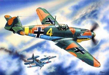 Messerschmitt Bf 109 F-4 · ICM 48103 ·  ICM · 1:48