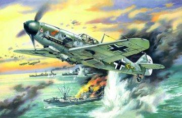 Messerschmitt Bf 109 F-4 B · ICM 48104 ·  ICM · 1:48
