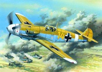 Messerschmitt Bf 109 F-4 Z/Trop WWII German Fighter · ICM 48105 ·  ICM · 1:48