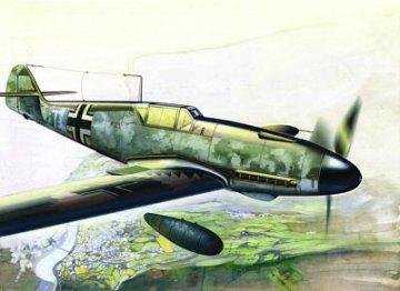 Messerschmitt Bf 109 F-4/R 3 · ICM 48106 ·  ICM · 1:48