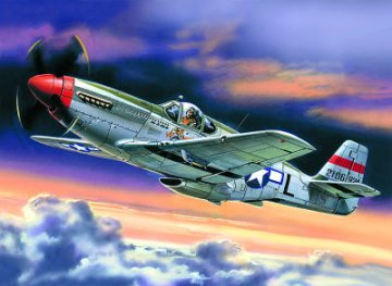 P-51C Mustang · ICM 48121 ·  ICM · 1:48