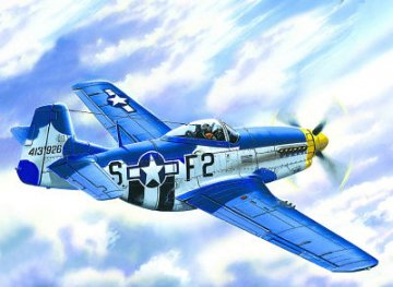 Mustang P-51 D-15 WWII US Air Forces fighter · ICM 48151 ·  ICM · 1:48