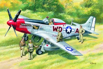 Mustang P-51D, WWII American Fighter · ICM 48153 ·  ICM · 1:48