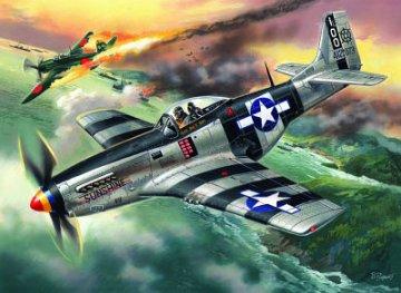 Mustang P-51K · ICM 48154 ·  ICM · 1:48