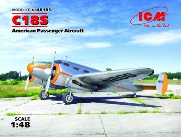 C18S,American Passenger Aircraft · ICM 48185 ·  ICM · 1:48