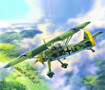 Hs 126A WWII German Reconnaissance Plane · ICM 48211 ·  ICM · 1:48