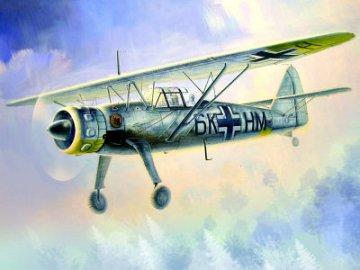 Hs 126B German Reconnaissance Plane · ICM 48212 ·  ICM · 1:48