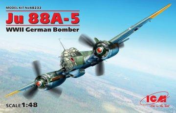 Junkers JU 88 A-5 · ICM 48232 ·  ICM · 1:48
