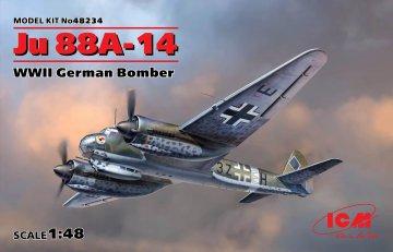 Junkers Ju 88 A-14 · ICM 48234 ·  ICM · 1:48