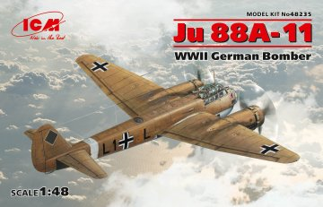 Junkers Ju 88 A-11, WWII German Bomber · ICM 48235 ·  ICM · 1:48