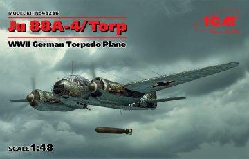 Junkers Ju 88 A-4 Torp / A-17 WWII German Torpedo Plane · ICM 48236 ·  ICM · 1:48