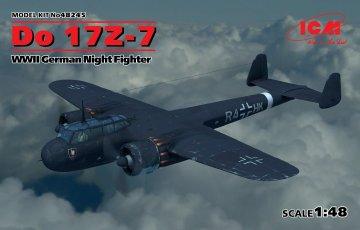 Dornier Do 17Z-7, WWII German Night Fighter · ICM 48245 ·  ICM · 1:48