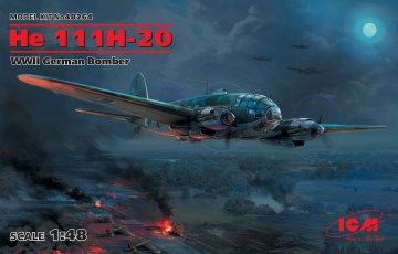 Heinkel He 111 H-20 - WWII German Bomber · ICM 48264 ·  ICM · 1:48