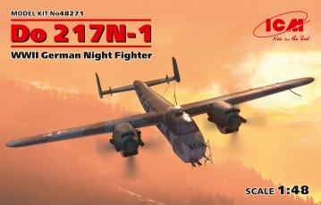 Dornier Do 217 N-1,WWII German Night Fighter · ICM 48271 ·  ICM · 1:48