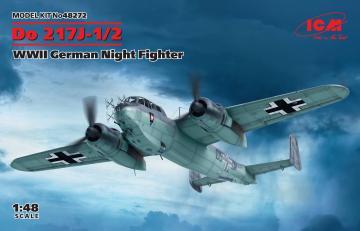 Do 217J-1/2, WWII German Night Fighter · ICM 48272 ·  ICM · 1:48