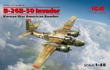 B-26B-50 Invader, Korean War American Bomber · ICM 48281 ·  ICM · 1:48