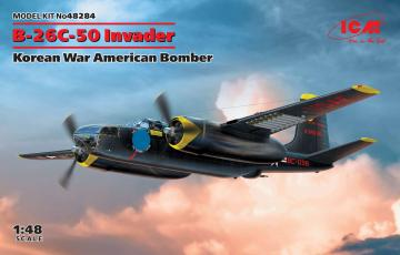 B-26-50 Invader, Korean War American Bomber · ICM 48284 ·  ICM · 1:48