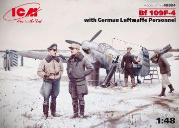 Messerschmitt Bf 109 F-4 · ICM 48804 ·  ICM · 1:48