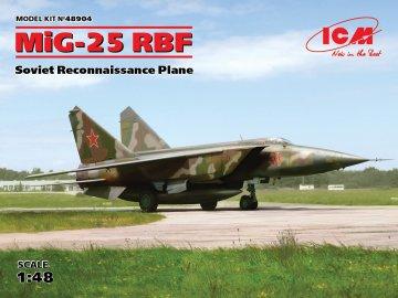 MiG-25 RBF, Soviet Reconnaissance Plane · ICM 48904 ·  ICM · 1:48