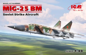 MiG-25 BM - Soviet Strike Aircraft · ICM 48905 ·  ICM · 1:48
