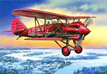 I-5 (early) Soviet Fighter Biplane · ICM 72052 ·  ICM · 1:72