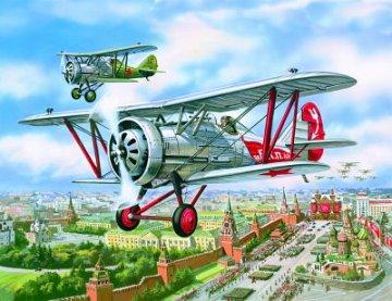 Polikarpov I-5 WWII Soviet Fighter · ICM 72053 ·  ICM · 1:72