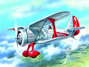 I-15, Soviet Fighter Biplane · ICM 72062 ·  ICM · 1:72