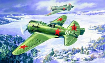 I-16 Type 24, WWII Soviet Fighter · ICM 72071 ·  ICM · 1:72