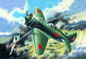 I-16 Type 18, WWII Soviet Fighter · ICM 72072 ·  ICM · 1:72