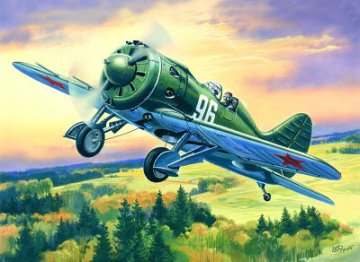 I-16 Type 18, WWII Soviet Fighter · ICM 72073 ·  ICM · 1:72