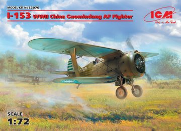 I-153 - WWII China Guomindang AF Fighter · ICM 72076 ·  ICM · 1:72