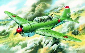 Sukhoi Su-2, WWII Soviet Light Bomber · ICM 72081 ·  ICM · 1:72