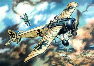 Pfalz E.IV Monoplane, WWI German Fighter · ICM 72121 ·  ICM · 1:72