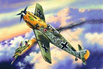 Messerschmitt Bf 109 E-4, WWII German Fighter · ICM 72132 ·  ICM · 1:72