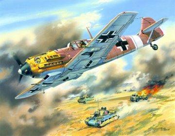 Messerschmitt Bf 109 E-7/Trop · ICM 72133 ·  ICM · 1:72