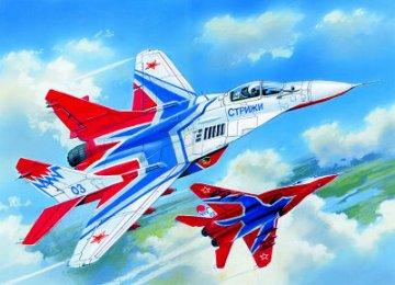 MiG 29 Russian Aerobatic Team · ICM 72142 ·  ICM · 1:72