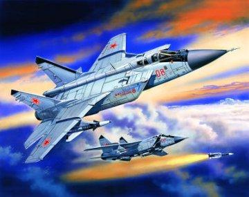 MiG-31 Foxhound Soviet Heavy Fighter Interceptor · ICM 72151 ·  ICM · 1:72