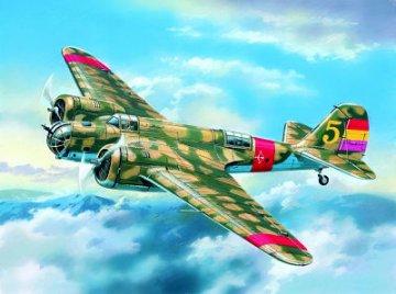SB 2M-100 Katiushka Spanish Air Force Bomber · ICM 72161 ·  ICM · 1:72