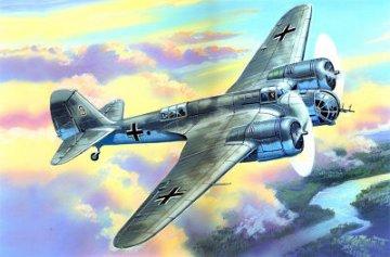 Avia B-71 WWII German Air Force Bomber · ICM 72163 ·  ICM · 1:72