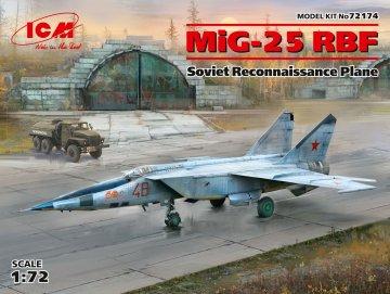 MiG-25 RBF - Soviet Reconnaissance Plane · ICM 72174 ·  ICM · 1:72