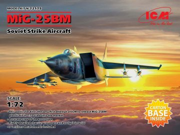 MiG-25 BM - Soviet Strike Aircraft · ICM 72175 ·  ICM · 1:72
