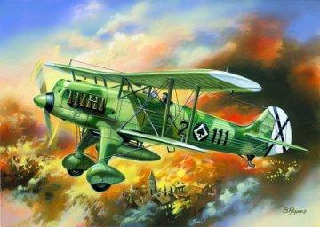 Heinkel He 51 B1 Spanish Airforce · ICM 72191 ·  ICM · 1:72