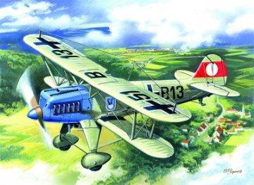 Heinkel He 51 A-1, German Fighter-Biplane · ICM 72193 ·  ICM · 1:72